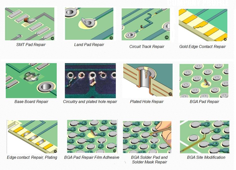 PCB Repair – MICROTECH